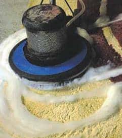Smacchiatura-pulizia tappeti e moquettes Lecce