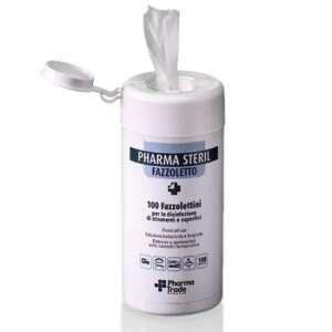 Fazzoletti disinfettanti e detergenti