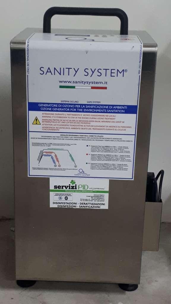 Sanificazione con ozono Lecce