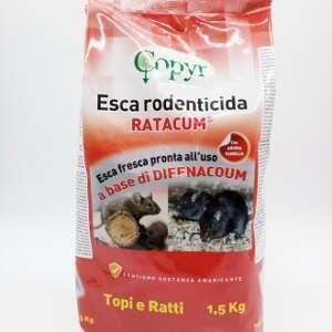 Esca Rodenticida in Pasta - RATACUM